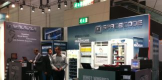 Spacecode Exhibits SmartFridge at Medica 2011